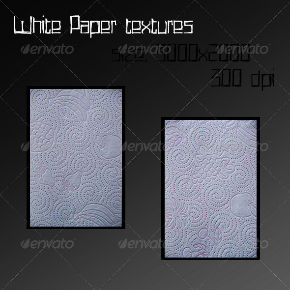 GraphicRiver White paper textures 6885637