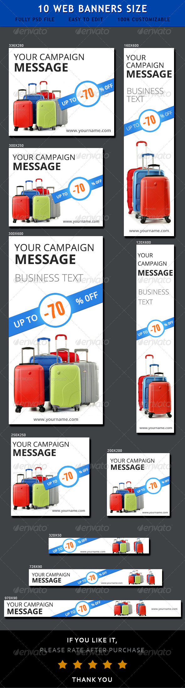 GraphicRiver Sale Ad Banners 6886267