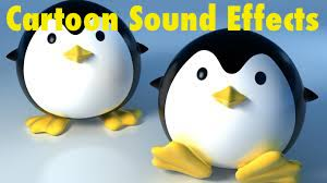 Cartoon sound effects