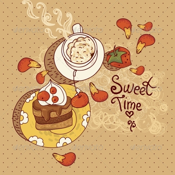 GraphicRiver Sweet Time Illustration 6887296