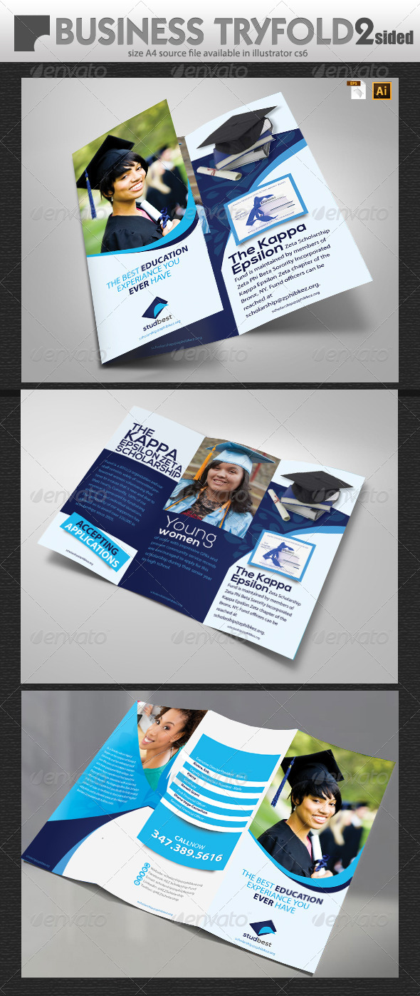 GraphicRiver Educational Brochure Design 6887464