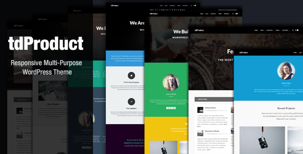 tdProduct - Responsive Multi-Purpose Theme