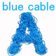 Blue Cable Alphabet - GraphicRiver Item for Sale