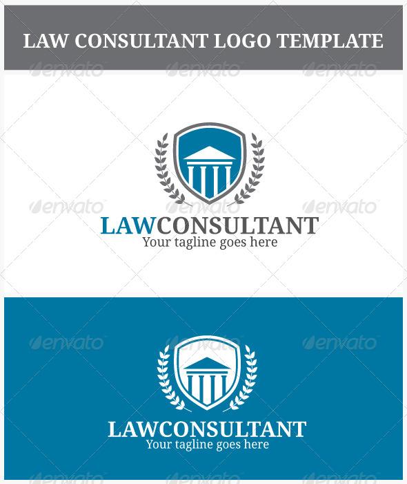 GraphicRiver Law Consultant Logo 6888591