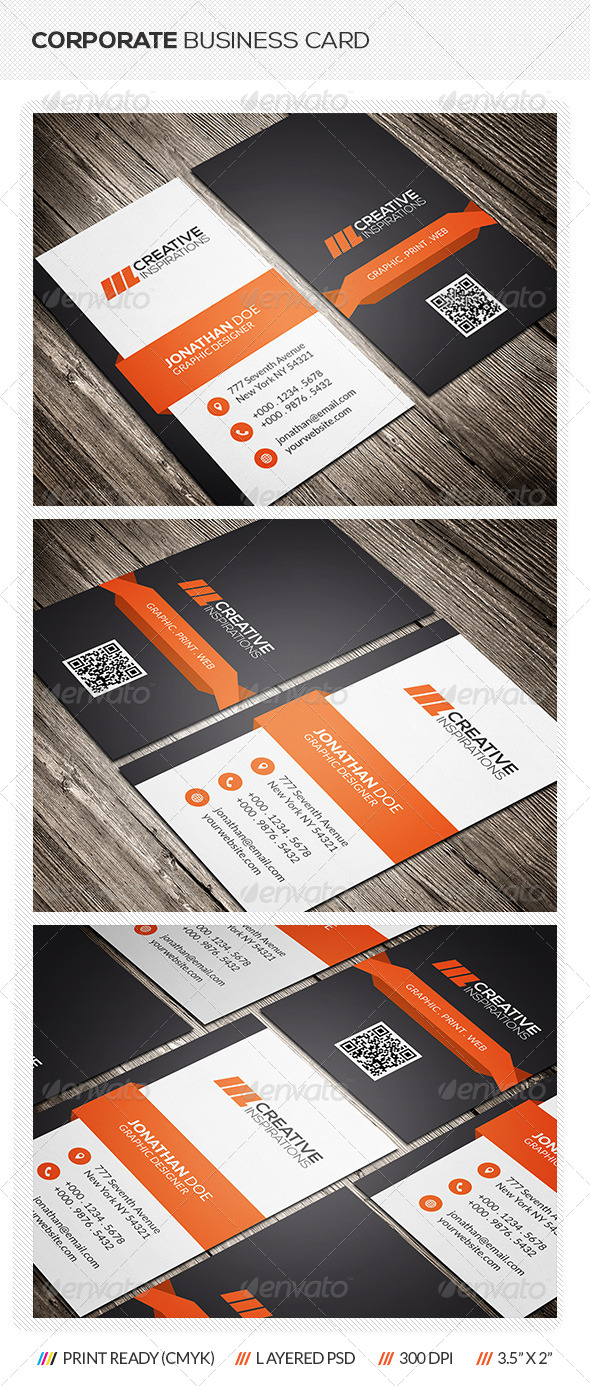 GraphicRiver Creative Corporate Business Card 6889751