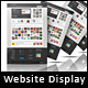 Website Presentation Display Mockup - GraphicRiver Item for Sale