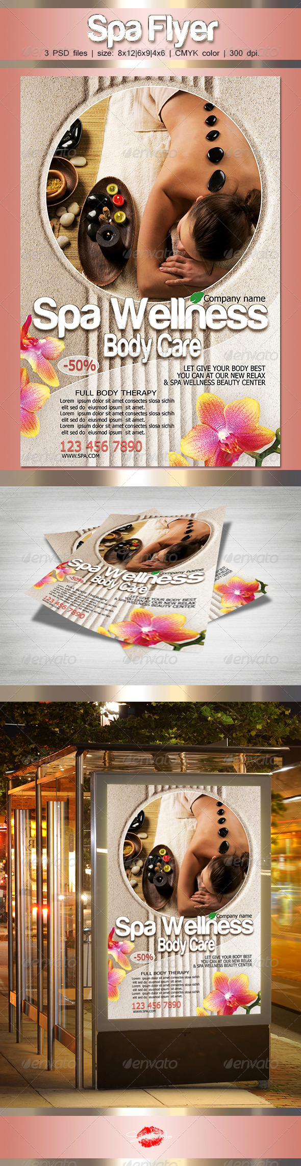 GraphicRiver Spa Flyer 6894460
