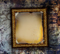 Gilded frame on grunge background - PhotoDune Item for Sale