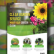 Garden Service Flyer Template - GraphicRiver Item for Sale
