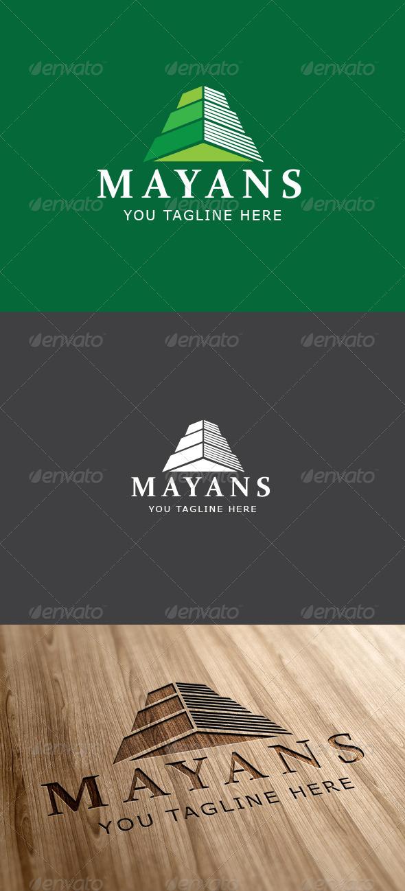 GraphicRiver Mayan Ruin Logo Template 6860519