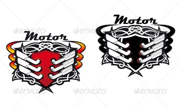 GraphicRiver Motor Sports Icons 6898059