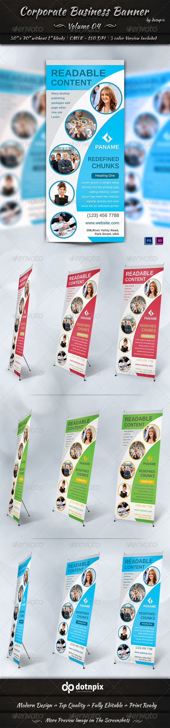 GraphicRiver Corporate Business Banner Volume 4 6899016