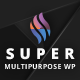 Super - Flat Multi-Purpose Theme - ThemeForest Item for Sale
