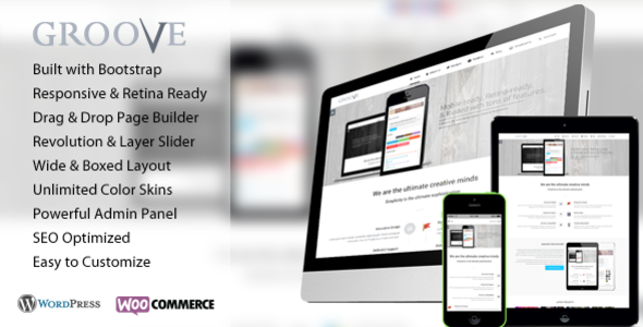 Groove - Retina Responsive Multi-Purpose WP Theme - Business Corporate