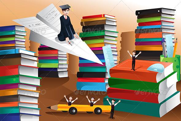 GraphicRiver Education Concept 6900963