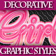 Set of Colorful Decorative Graphic Styles for AI - GraphicRiver Item for Sale