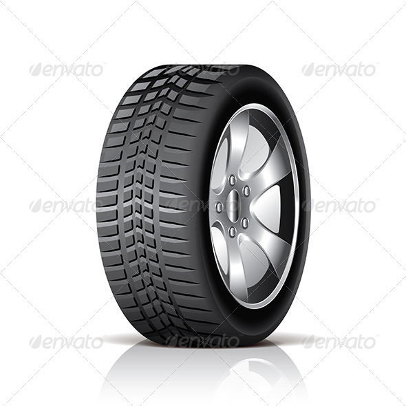 GraphicRiver Car Tire 6901191