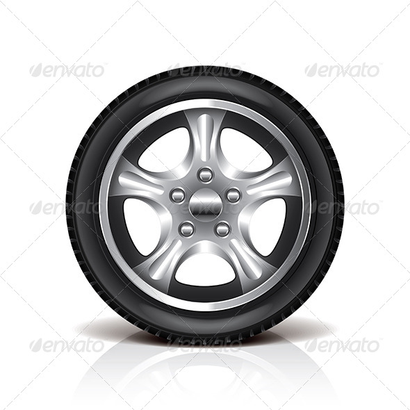 GraphicRiver Car Tire 6901192