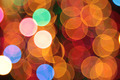 abstract blurred circular bokeh lights background - PhotoDune Item for Sale