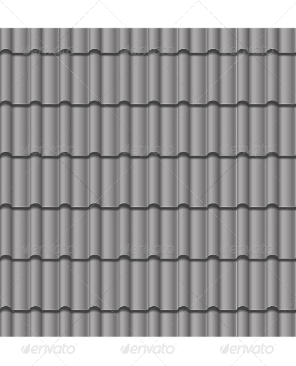 GraphicRiver Roof Tile Seamless Background 6902371