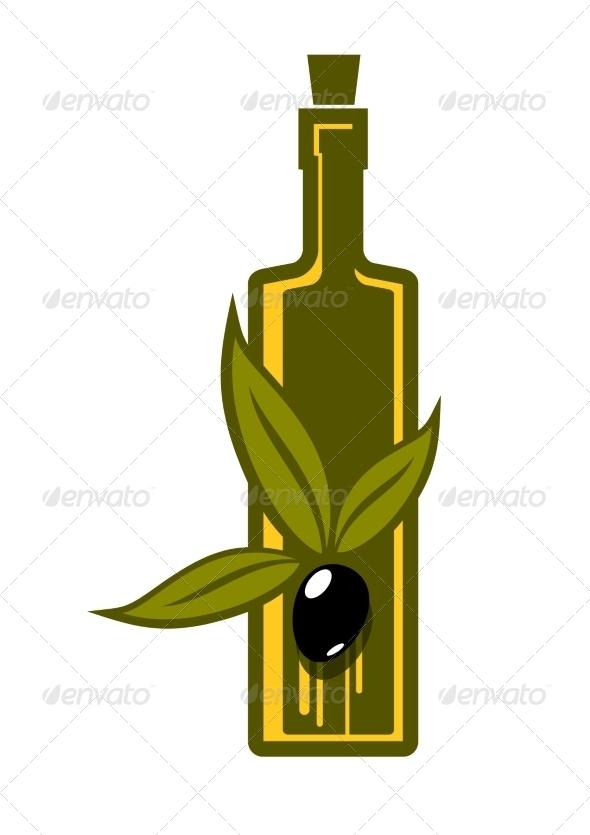 GraphicRiver Bottle of Virgin Olive Oil 6902539
