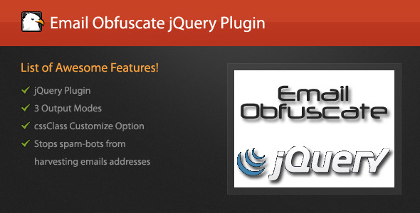 jQuery Email Obfuscate Plugin - CodeCanyon Item for Sale