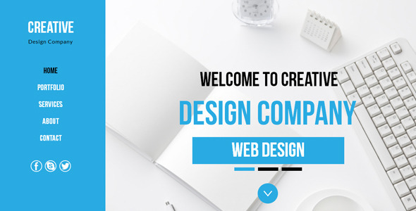 Creative - Multi-Purpose Muse Template - Creative Muse Templates