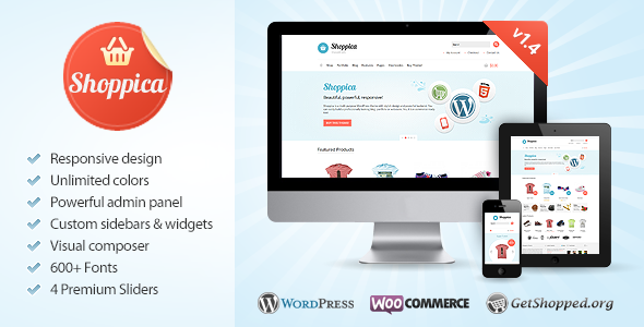 Shoppica - Responsive E-commerce WordPress Theme - WooCommerce eCommerce
