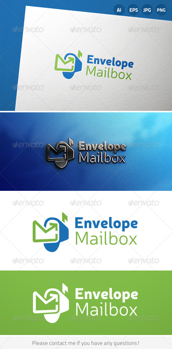 GraphicRiver Mailbox Letter Email Communication 6904343