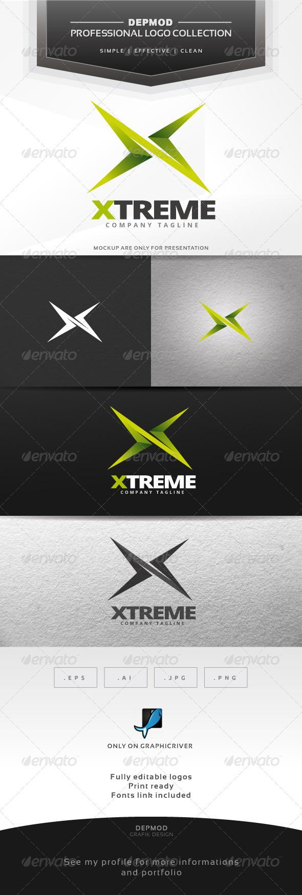 GraphicRiver Xtreme Logo 6904912
