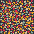 Love Heart Background Pattern  Greeting card trendy colors Romantic relationship concept - PhotoDune Item for Sale