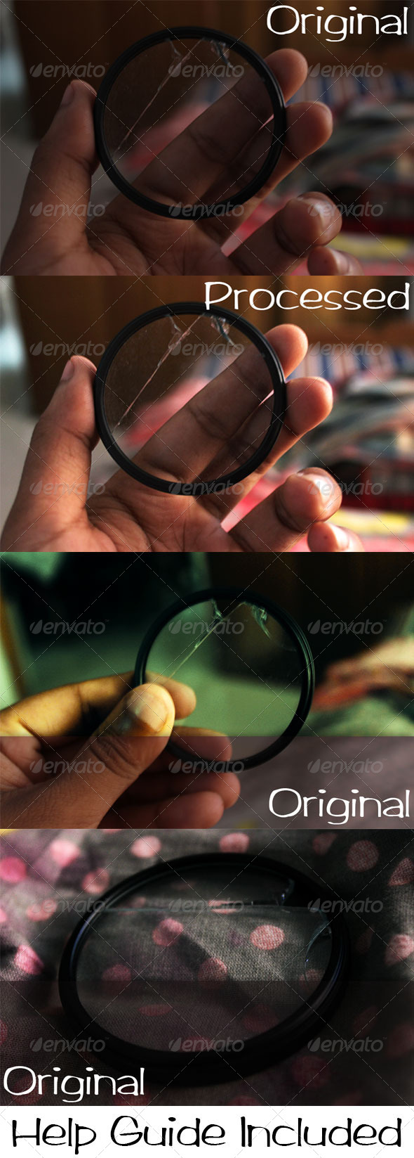 GraphicRiver Broken Glass Photo Effects 6905824