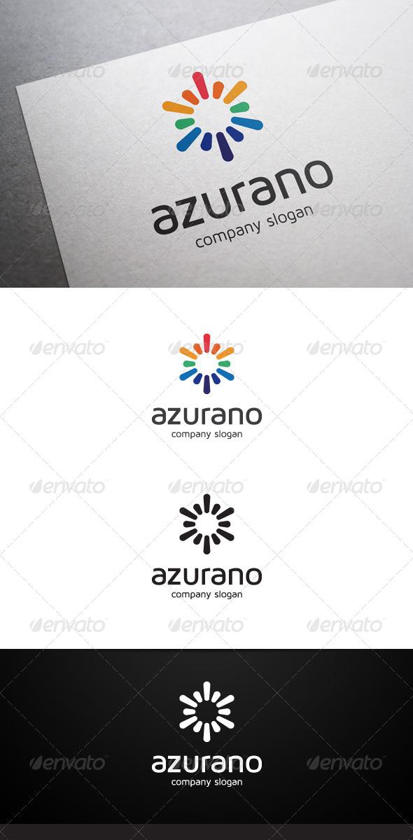 GraphicRiver Azurano Logo 6906256