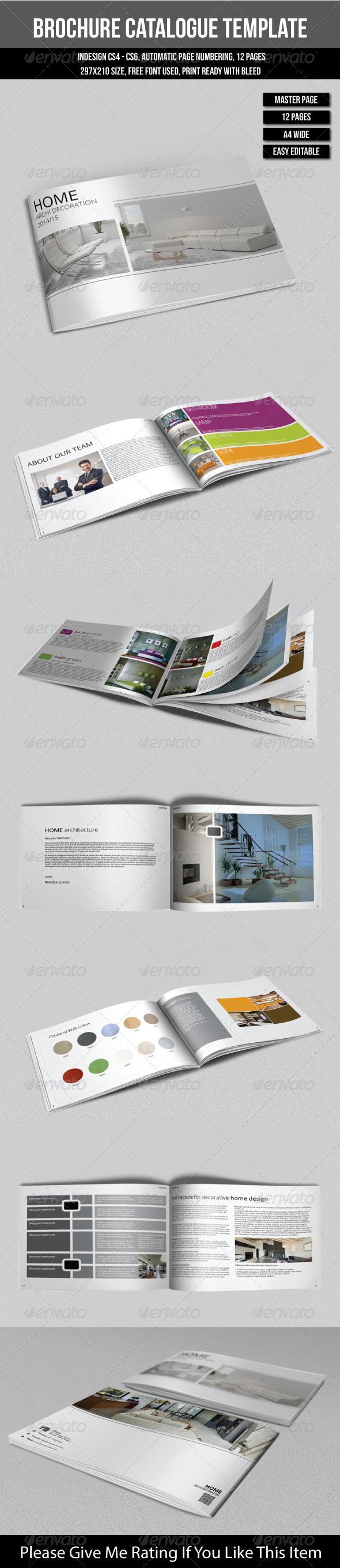 GraphicRiver Brochure Catalogs Template 6906310