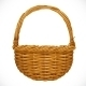 Realistic Wicker Basket - GraphicRiver Item for Sale