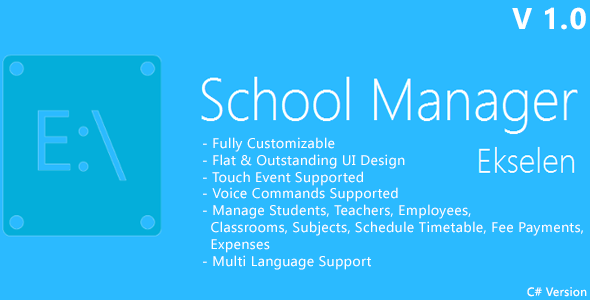 CodeCanyon Ekselen School Management System CS Version 6907339