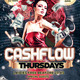 Cashflow Thursdays Flyer - GraphicRiver Item for Sale