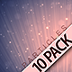 Soft Particles Backgrounds - 10 Pack - VideoHive Item for Sale