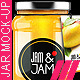 Realistic Jam Bottle Mock-ups - GraphicRiver Item for Sale