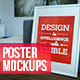 8 Real Photo Poster Mockups - GraphicRiver Item for Sale