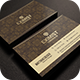 Sleek Golden Business Card - GraphicRiver Item for Sale