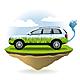 Eco Car - GraphicRiver Item for Sale