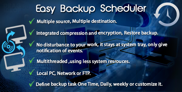CodeCanyon Easy Backup Scheduler 6865670