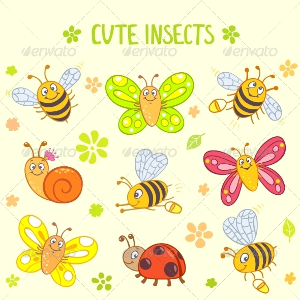 GraphicRiver Insects 6909924