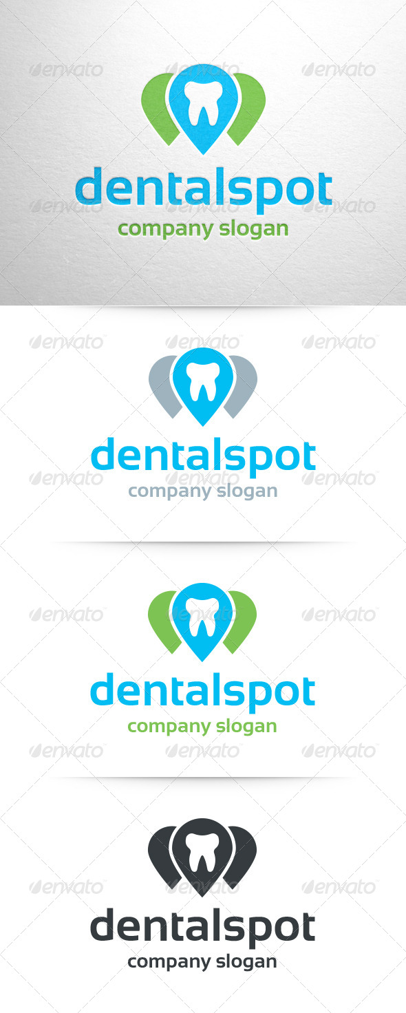 GraphicRiver Dental Spot Logo 6909938