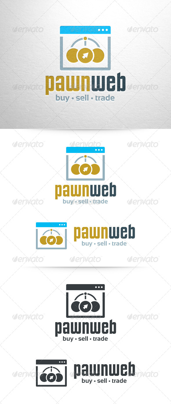 GraphicRiver Pawn Web Logo Template 6910061