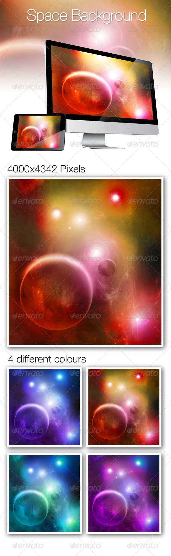 GraphicRiver Space Background 6910759