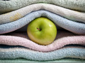Apple and towels - PhotoDune Item for Sale