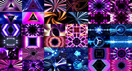 Vj Loop Abstract Footages