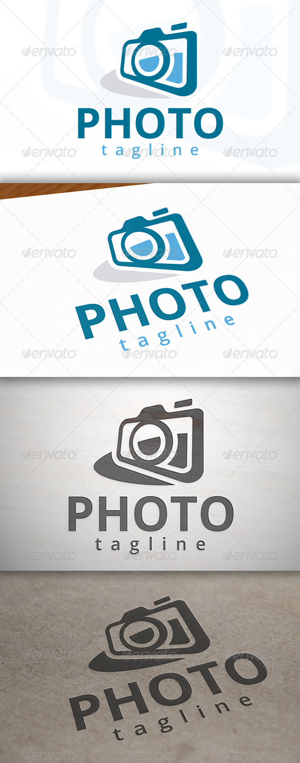 GraphicRiver Photography Logo 6912669